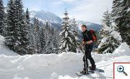 Schneehschuhwandern in der Silberregion Karwendel